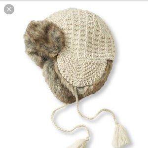 Hat Attack Fur trapper hat.